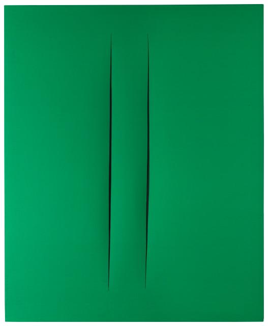 Lucio Fontana : Concetto spaziale, Attese , 1964-1965